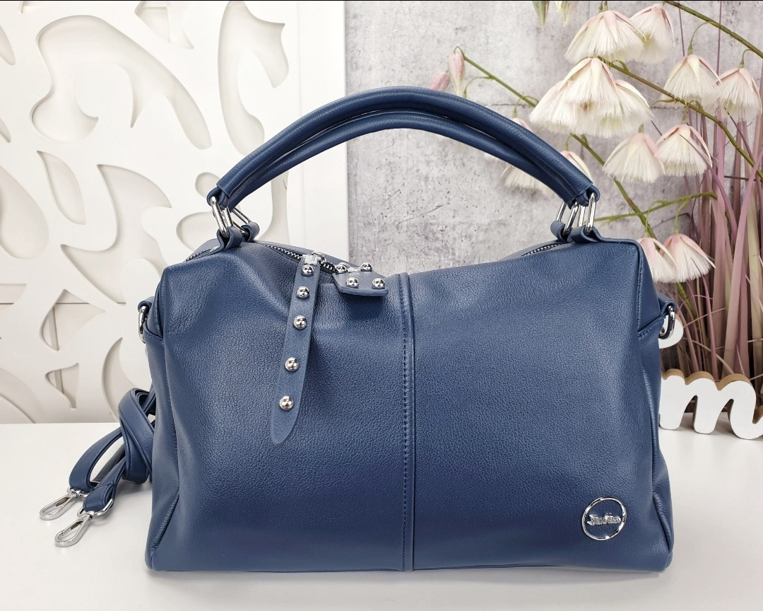 Женская сумочка цвет синий