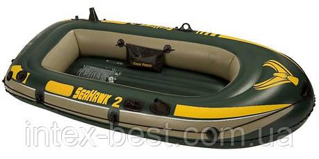 "Надувная лодка Intex ""Sea Hawk 2"" 68346 (236х114 см), фото 2"
