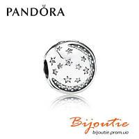 Pandora клипса БЛЕСК ЗВЕЗД 791386CZ серебро 925 цирконий Пандора оригинал