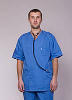 "Медицинский костюм мужской ""Health Life"" коттон 3211"