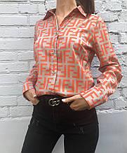 Рубашка женская Fendi