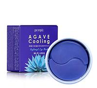 Гидрогелевые Патчи под Глаза с Агавой Petitfee Agave Cooling Hydrogel Eye Mask 60 шт