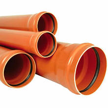 Трубы ПВХ Мпласт для наружной канализации