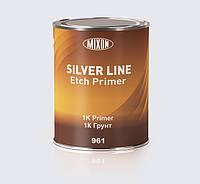 961 Грунт кислотний для кольорових металів 1K Etch Primer SILVER LINE  0,8л  MIXON
