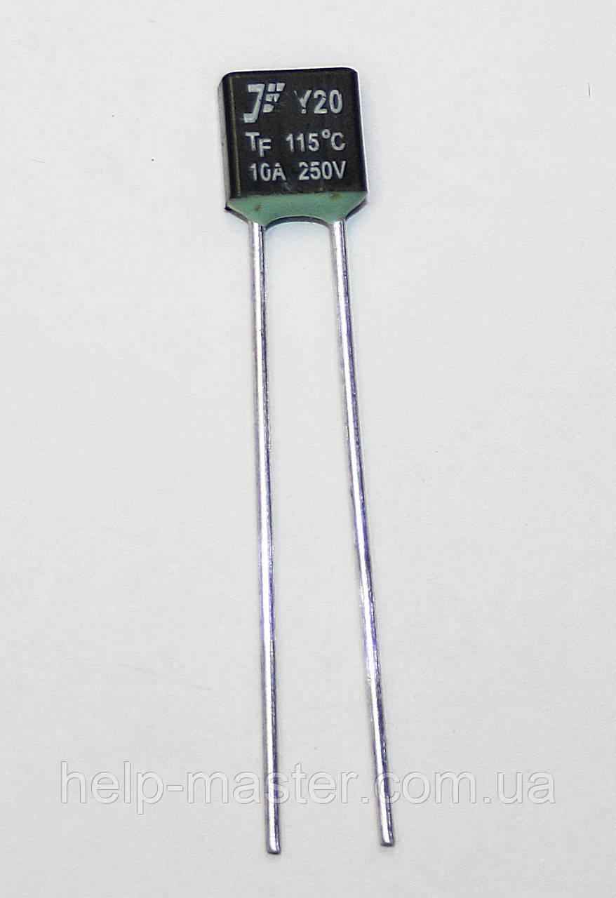 KLS5-104 10A 250В 120°C термо-предохранитель