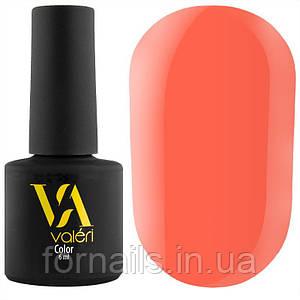 Гель-лак Valeri №003 (персиково-оранжевый, эмаль), 6 мл