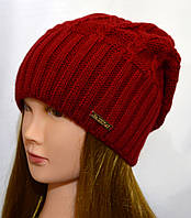женская шапка на флисе с закрепом, фото 1