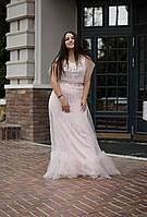 Стильна ніжно рожева сукня VEREZHIK HOUSE