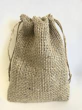 Мешок джут, экомешок для вещей, еко торбинка, екоторбинка, мешок для подарков, подарункоа торба