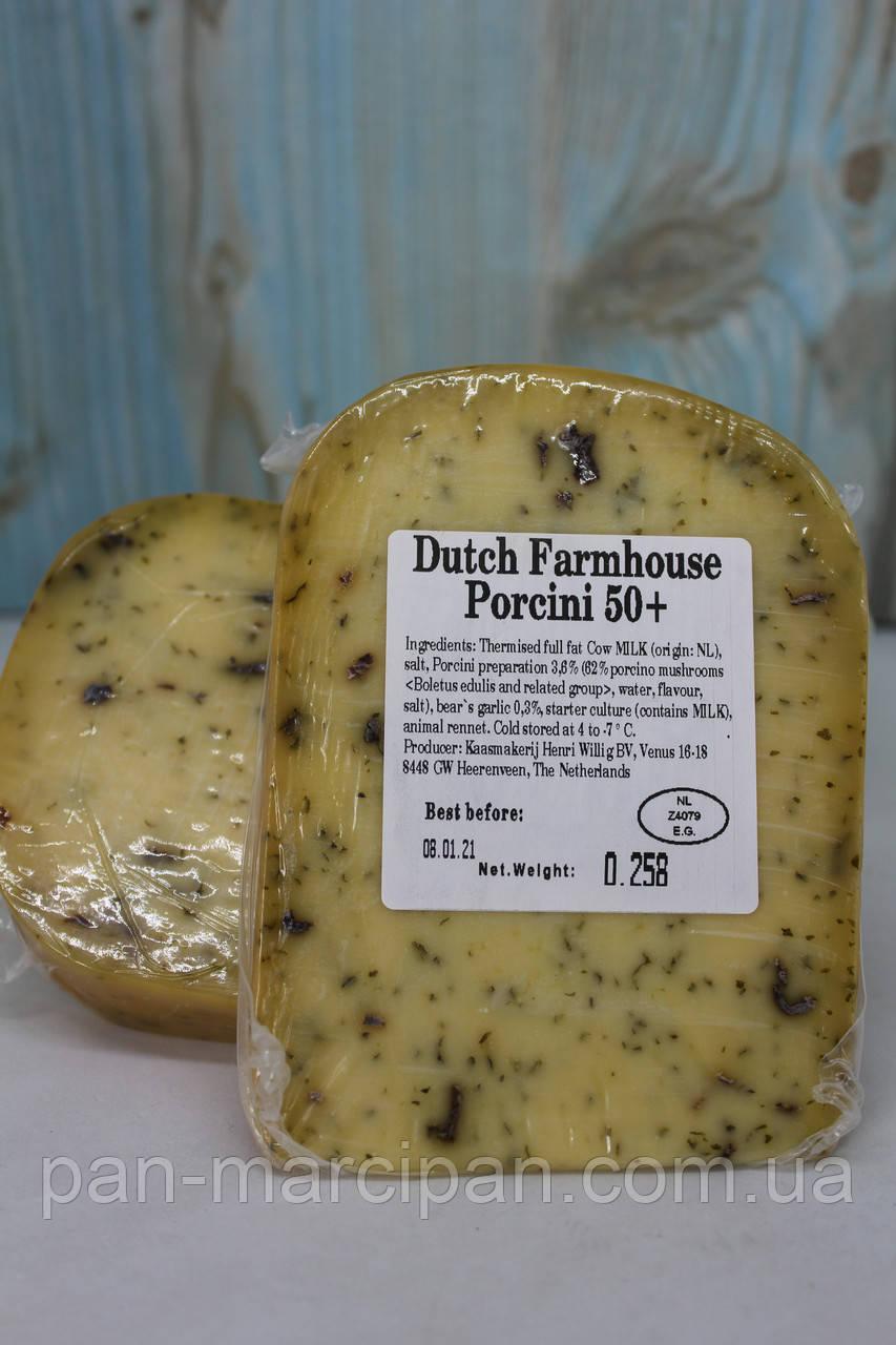 Сир Dutch Farmhouse Porcini з білими грибами