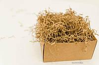 Наполнитель для упаковки товаров, подарков и декора: бумажный крафт, 25 грамм