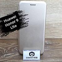 Чехол книжка для Huawei Honor 9 lite G-Case Золотой