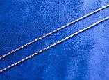 Цепочка фирмы Xuping с родиевым покрытием (55см 1,5мм Т1000 Rhodium color), фото 2