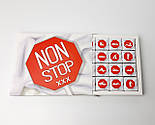 """Шоколадний набір """"Non stop"""" 100 г - Подарунок з інтимом - Шоколадний набір з натяком - Особистий подарунок, фото 3"""