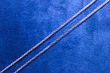 Ланцюжок фірми Xuping з родієвим покриттям (60см 2мм Т0730 Rhodium color), фото 2
