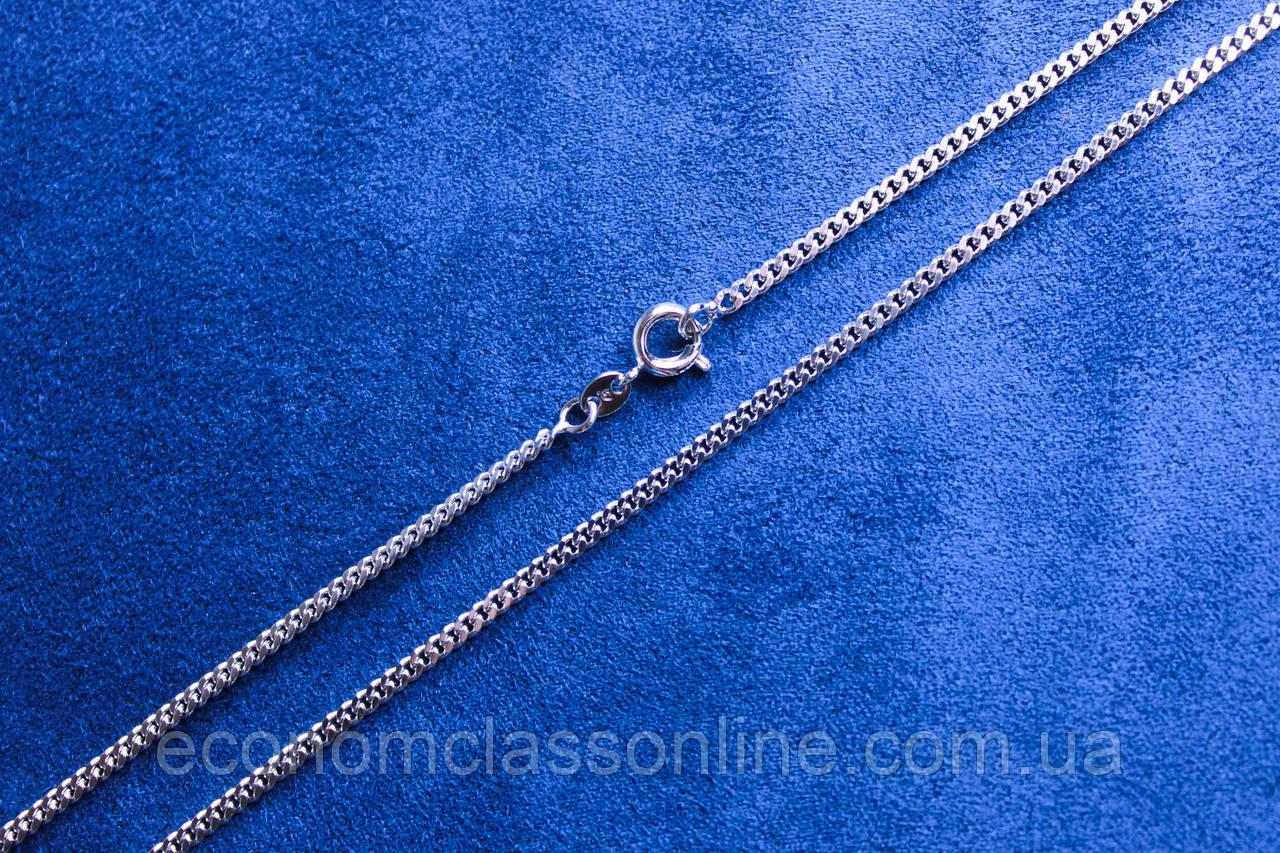 Ланцюжок фірми Xuping з родієвим покриттям (60см 2мм Т0730 Rhodium color)