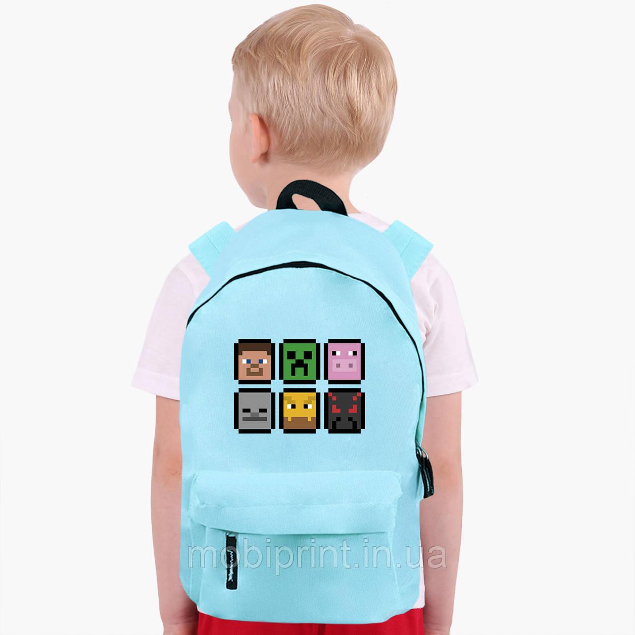 Детский рюкзак Майнкрафт (Minecraft) (9263-1173)