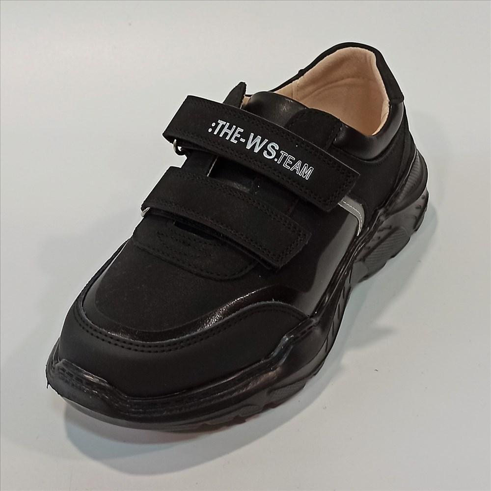 Дитячі кросівки Weestep R8886BK (код 1049) розміри: 34-36