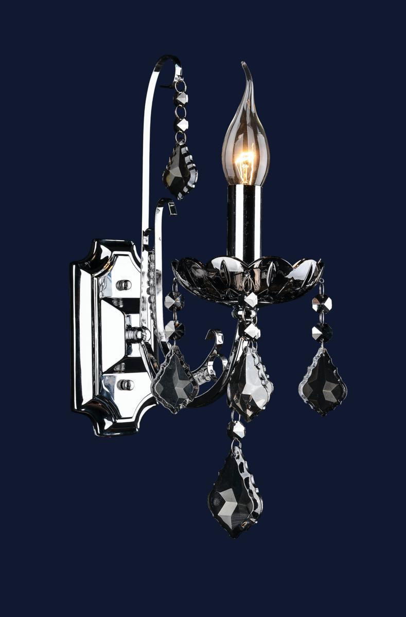 Светильник прикроватный хром 702W3051-1 CR