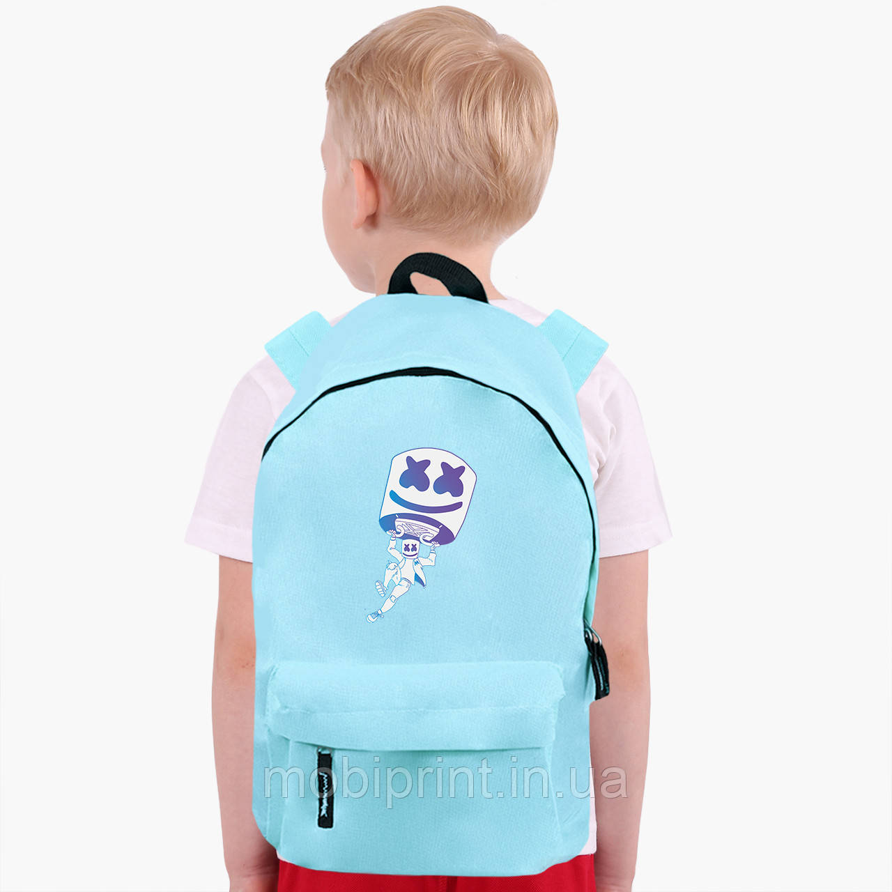 Дитячий рюкзак Маршмелло Фортнайт (Marshmello Fortnite) (9263-1329)