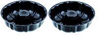 Набор форм с антипригарным покрытием для выпечки кекса 2 шт 25,3*8,5см 9848 Empire