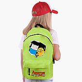 Детский рюкзак Финн и Джейк пес Время приключений (Adventure Time) (9263-1581)