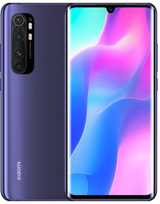 "Xiaomi Mi Note 10 Lite 6/64 6.47"" Purple RAM: 6Gb ROM:64Gb ЕВРОПА  смартфон ксяоми ми нот 10 лайт"