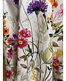Хлопковая скатерть на стол Digitale Полевые цветы, фото 2