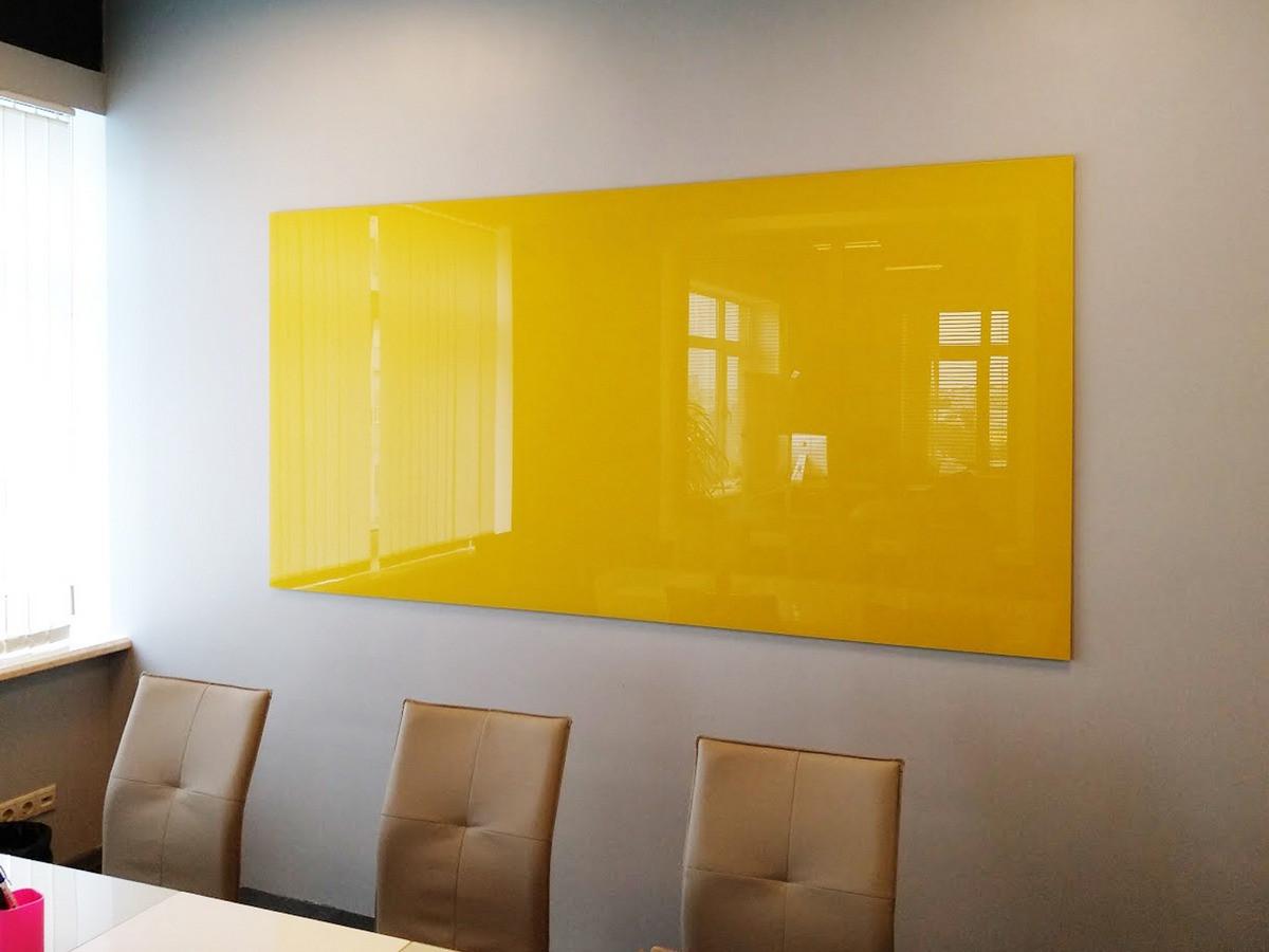 Доска стеклянная маркерная  800*600мм