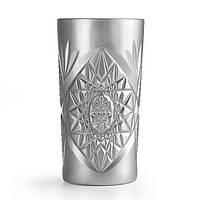 "928426 Стакан высокий серебро Cooler 470 мл Libbey ""Hobstar Silver"""