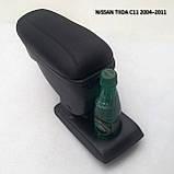 Підлокітник Armcik S1 з зсувною кришкою для Nissan Tiida С11 2004-2012, фото 3