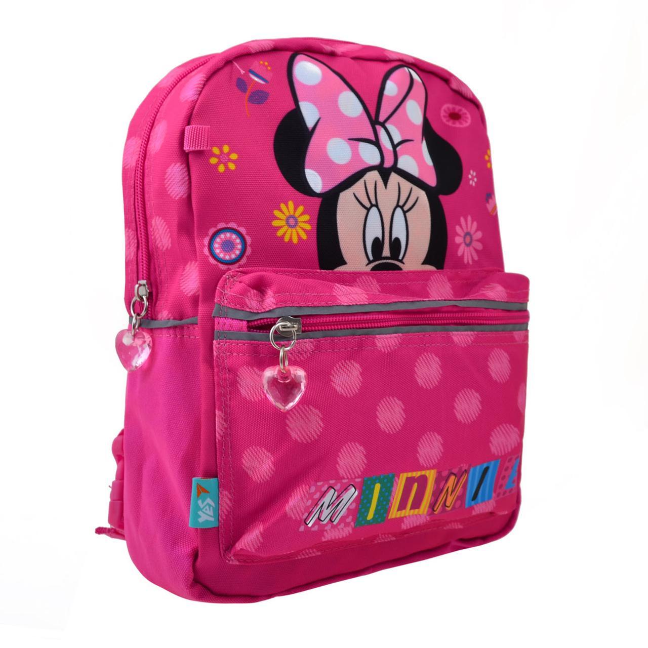 """Рюкзак дошкільн. """"Yes"""" Minnie двосторон. 1від.,1карм. №K-32/556847"""