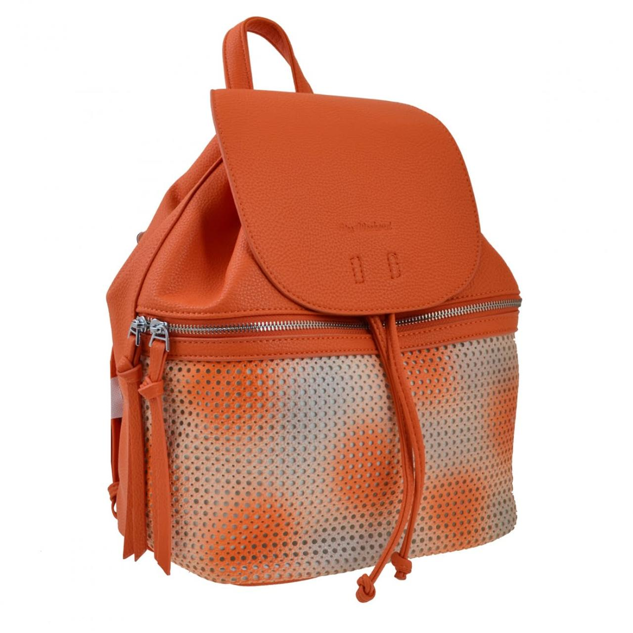 "Рюкзак-сумка ""Yes Weekend"" 2від.,31х28х17см,рудий №554179"