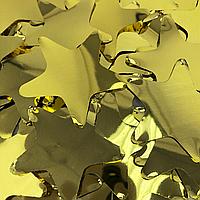 Конфетти звездочки золото, 100г