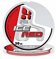 Леска моно. зим. Salmo HI-TECH ICE RED 030/0.12