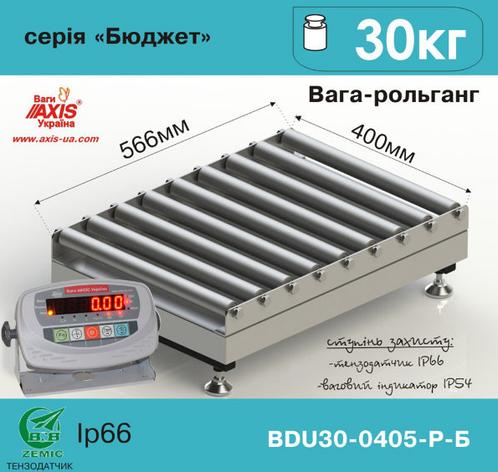 Весы рольганговые BDU30-0405-Р Бюджет, фото 2