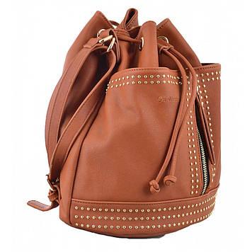 "Рюкзак-сумка ""Yes Weekend"" 1від.,2карм.,29х25х15см,рудий №554154"