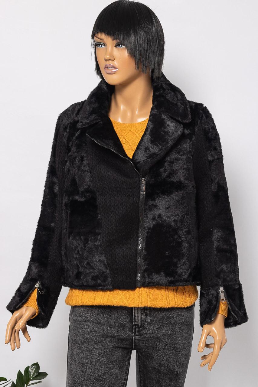 Куртка женская BRIGHT GIRL K-6309 BLACK