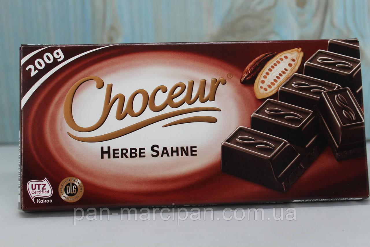 Шоколад Choceur Herbe Sahne темний 200 г