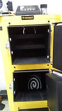Универсальный твердотопливный котёл КRONAS UNIC 15 квт площадь обогрева помещения до 150 м2 / Кронас Уник, фото 2
