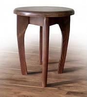 Табурет деревянный с круглым сидением