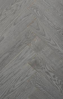 Паркетна дошка Дуб Броуд / Англійська ялинка (селекція Natur)