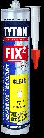 Клей-герметик Tytan FIX2 гібридний (прозорий)