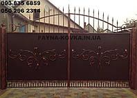 Кованные ворота 1197, фото 1
