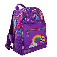 """Рюкзак дошкільн. """"1В"""" Rainbow 1від.,1карм.,22,5х18,5х9,5см №K-16/554762"""