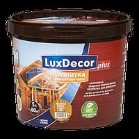 Акриловая пропитка для дерева LuxDecor 5 л (махагон)