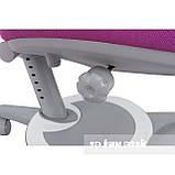 Універсальний комплект для дитини парта FunDesk Amare II Grey + ортопедичне крісло FunDesk Bravo Purple, фото 5