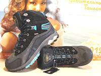 Ботинки мужские зимние Asolo GTX (реплика) черные 43 р.