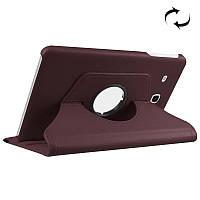 Вращающийся коричневый чехол для Samsung Galaxy Tab E 9.6 SM-T560/T561, фото 1