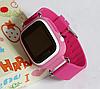 Детские Умные часы с GPS Smart baby watch Q90 розовые - Детские смарт часы-телефон с трекером и кнопкой SOS, фото 6